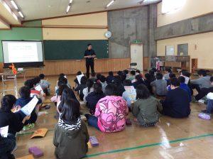 紫雲寺小学校3,4年生 認知症サポーター養成講座